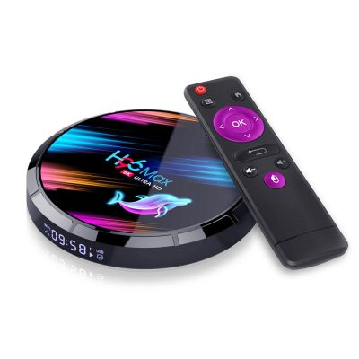Android tv box h96 max x3 8K 4GB 32GB bli online shopstop al