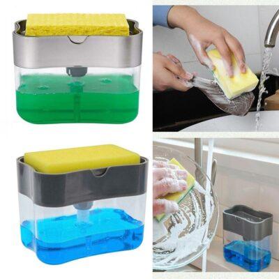 Sponge Rack Soap Dispenser aksesor ene pastrim detergjent bli online shopstop al