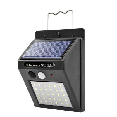 30 LED solar motion sensor wall lamp buy online shopstop al