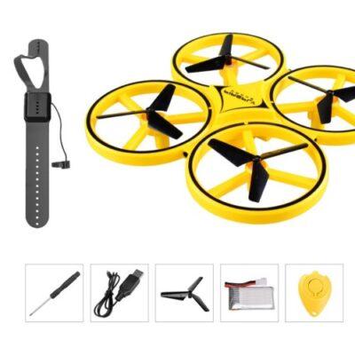mini helicopter drone smart hand watch shopstop al