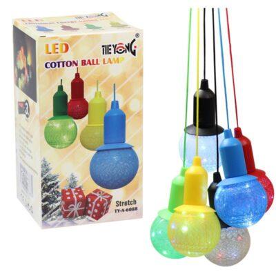 led cotton ball lamp sorted colour online top shop al