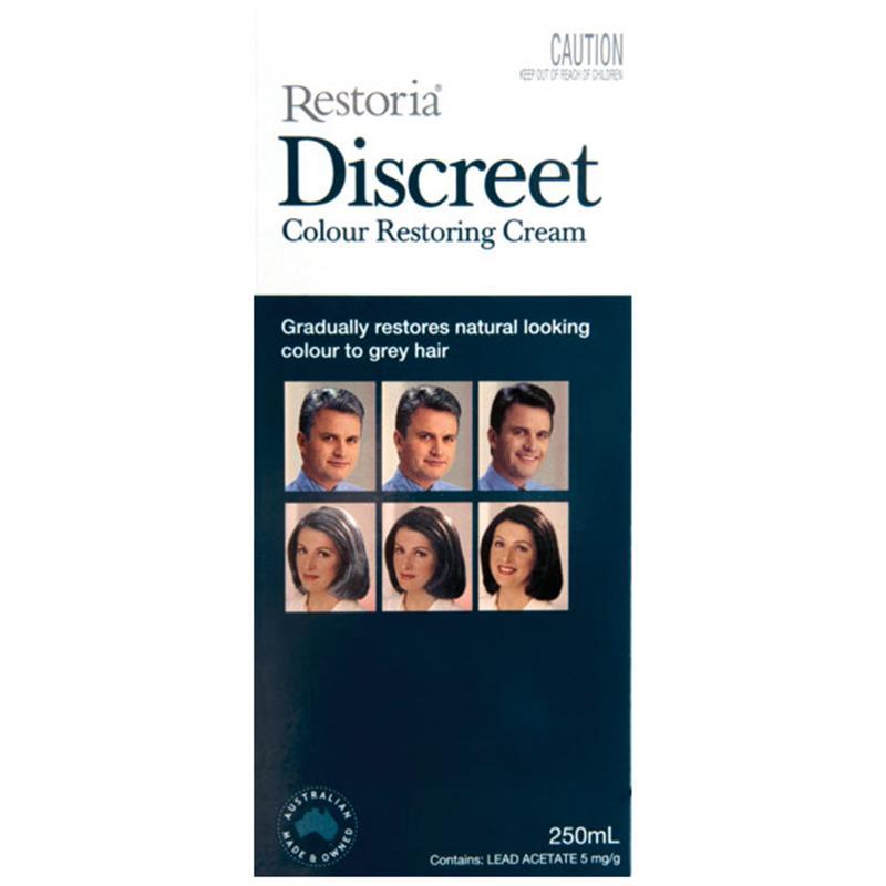 restoria discreet colour restoring cream 250ml buy online shopstop al