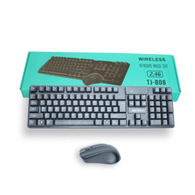 wireless keyboard and mouse set model tj 808 Online shopstop al